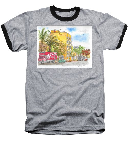 Fred Hayman Building, Cannon Dr And Clifton, Beverly Hills, Ca Baseball T-Shirt