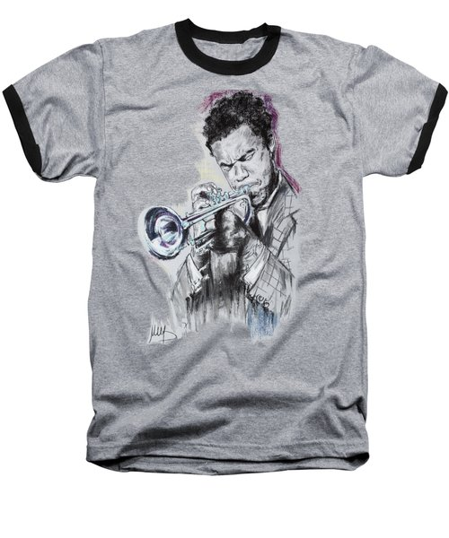 Freddie Hubbard Baseball T-Shirt by Melanie D