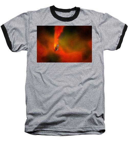 Baseball T-Shirt featuring the mixed media Freddy Fender by Trish Tritz