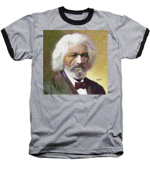 Frederick Douglass Baseball T-Shirt