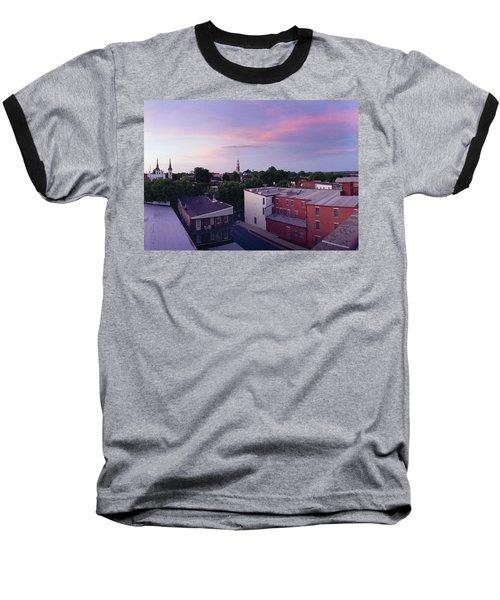 Twi Lights Baseball T-Shirt by Jan W Faul