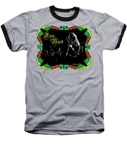 Free Bird Baseball T-Shirt