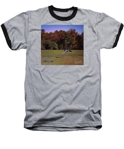 Free Flighted Macaw Baseball T-Shirt