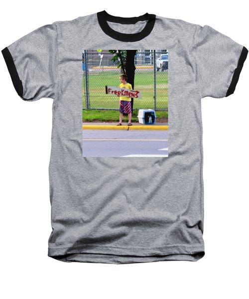 Free Kittens Baseball T-Shirt