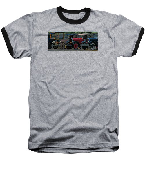 Free Parking Baseball T-Shirt by Janice Westerberg