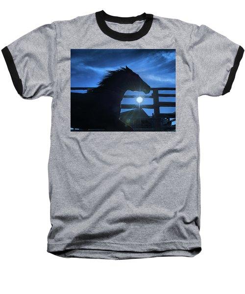 Free Spirit Horse Baseball T-Shirt