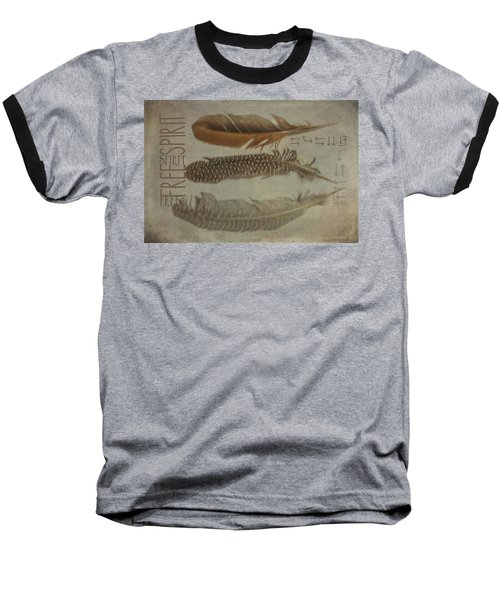Baseball T-Shirt featuring the photograph Free Spirit by Toni Hopper