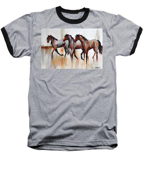Free Spirits Baseball T-Shirt by Cher Devereaux
