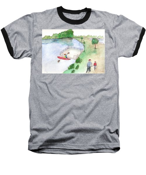 Free Time Baseball T-Shirt