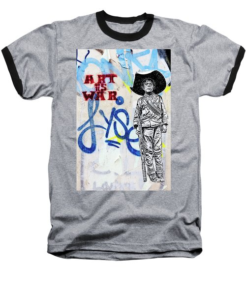 Baseball T-Shirt featuring the photograph Freedom Fighter by Art Block Collections