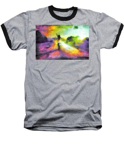 Freedom In The Rainbow Baseball T-Shirt