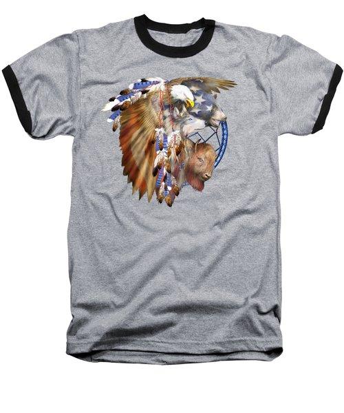 Freedom Lives Baseball T-Shirt