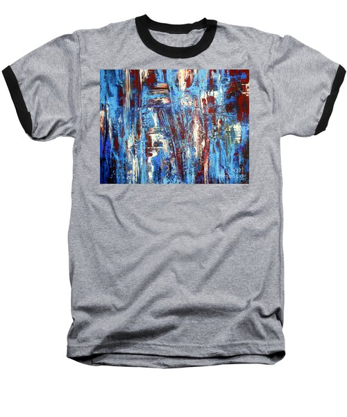Freedom Of Expression Baseball T-Shirt by Valerie Travers