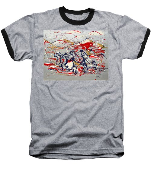 Freedom On The Open Range Baseball T-Shirt