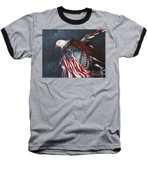 Freedom Rings Baseball T-Shirt