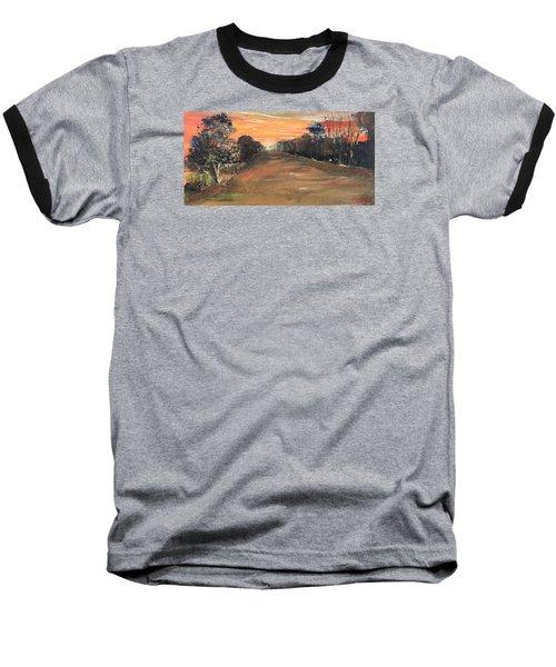 Freedom Road Baseball T-Shirt by Remegio Onia