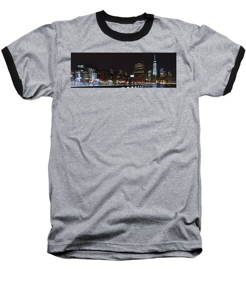 Freedom Skyline Baseball T-Shirt