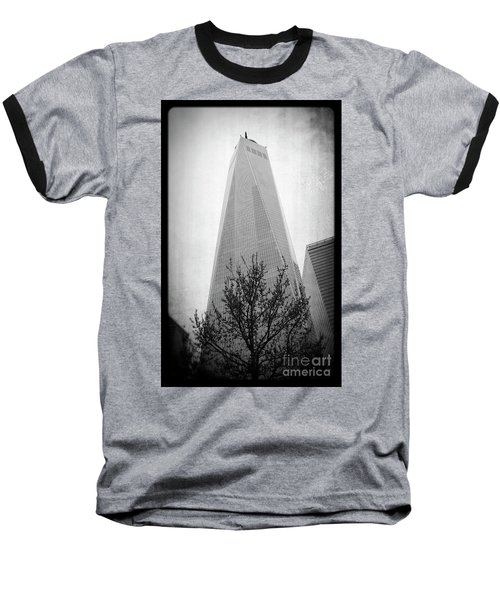 Baseball T-Shirt featuring the photograph Freedom Tower 2 by Paul Cammarata