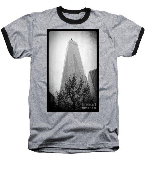 Freedom Tower 2 Baseball T-Shirt