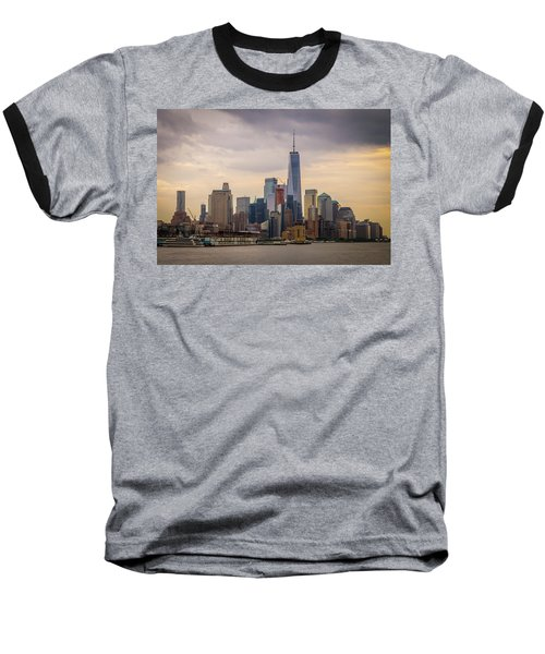 Freedom Tower - Lower Manhattan 2 Baseball T-Shirt