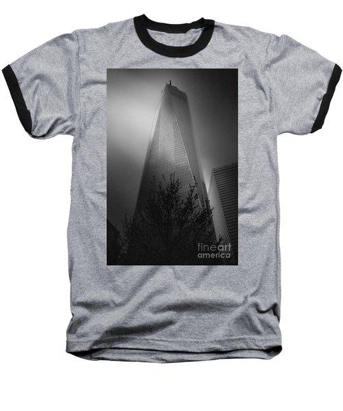 Freedom Tower Baseball T-Shirt