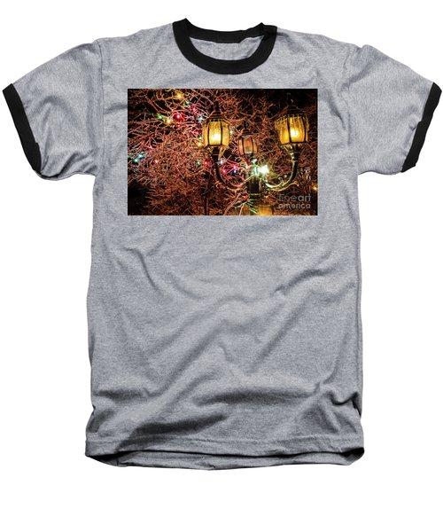 Christmas Lamp Baseball T-Shirt