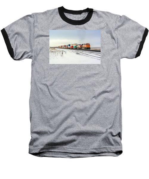 Freight Train Baseball T-Shirt