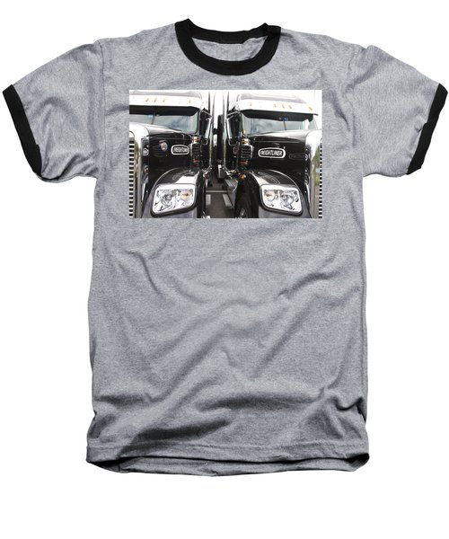 Freightliner Baseball T-Shirt by Alice Gipson