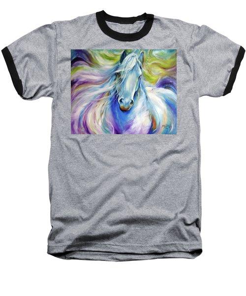 Freisian Dreamscape Baseball T-Shirt by Marcia Baldwin