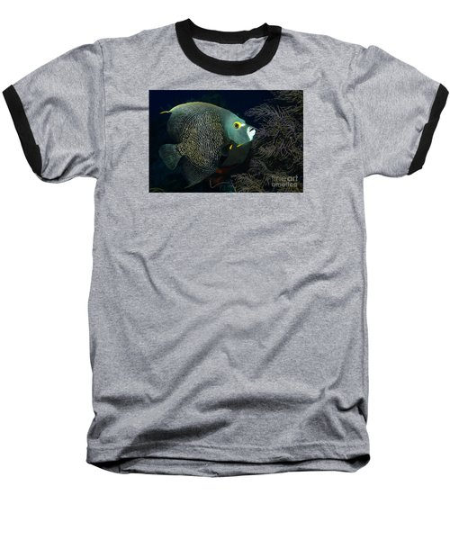 Baseball T-Shirt featuring the photograph French Angel by Aaron Whittemore