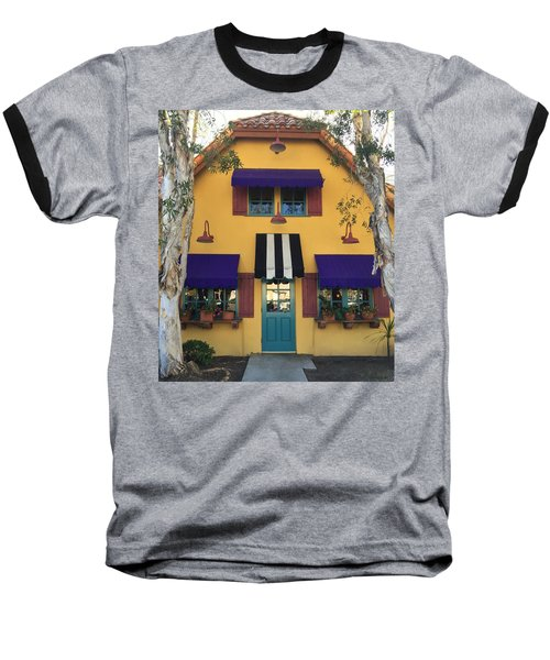 French Delectables Baseball T-Shirt by Peggy Stokes