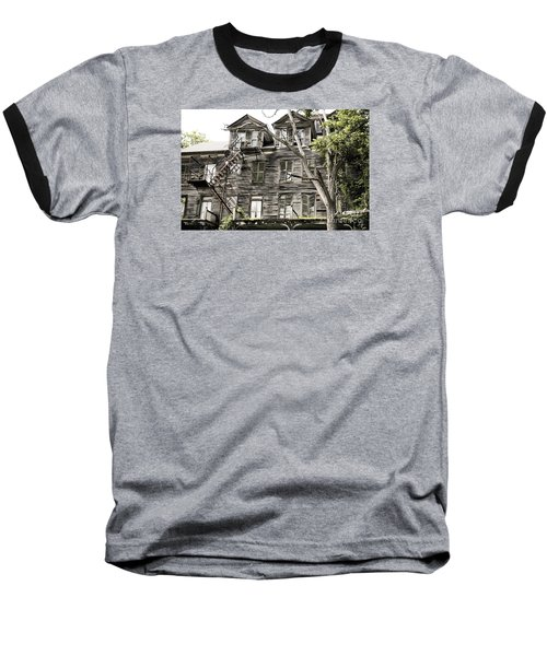 French Doors And Fire Escapes Baseball T-Shirt