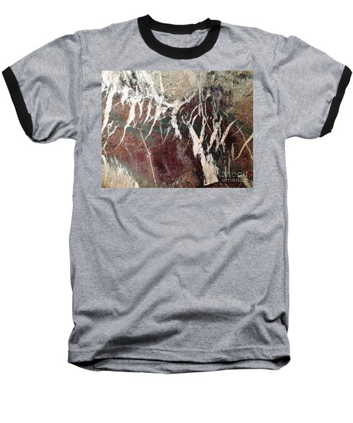 Baseball T-Shirt featuring the photograph French Marble by Therese Alcorn