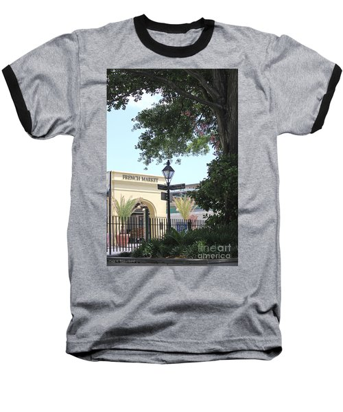 French Market Baseball T-Shirt