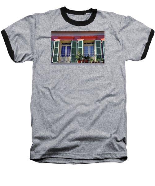 French Quarter Home Baseball T-Shirt
