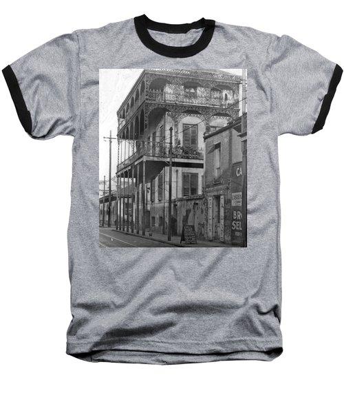 Dauphine St Residence Baseball T-Shirt