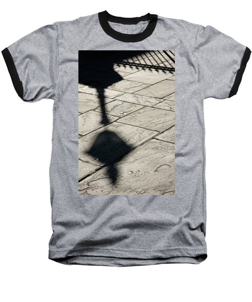 French Quarter Shadow Baseball T-Shirt
