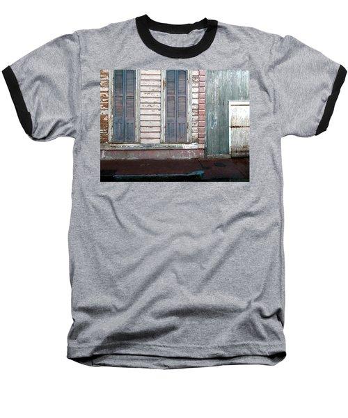 French Quarter Baseball T-Shirt by Steve Archbold