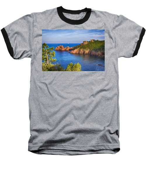 French Riviera 2 Baseball T-Shirt