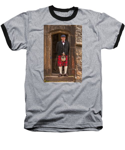 French Scotsman Baseball T-Shirt