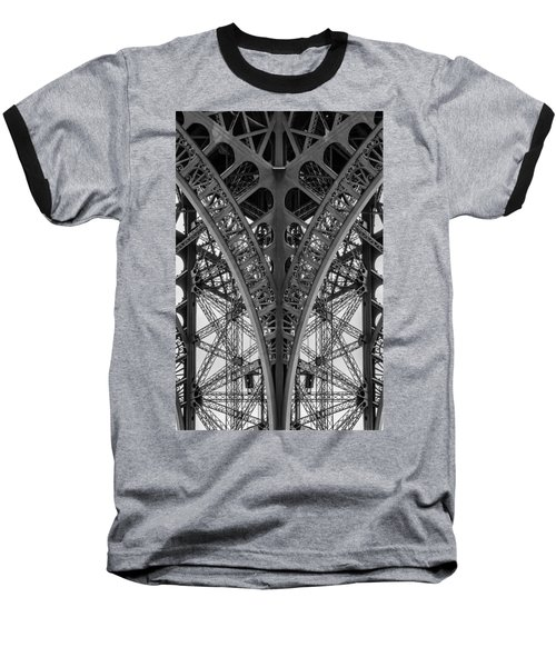 French Symmetry Baseball T-Shirt
