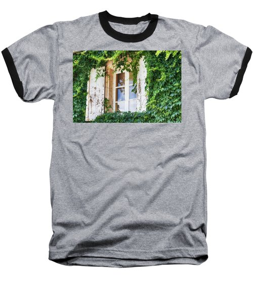 French Window In Provence Baseball T-Shirt