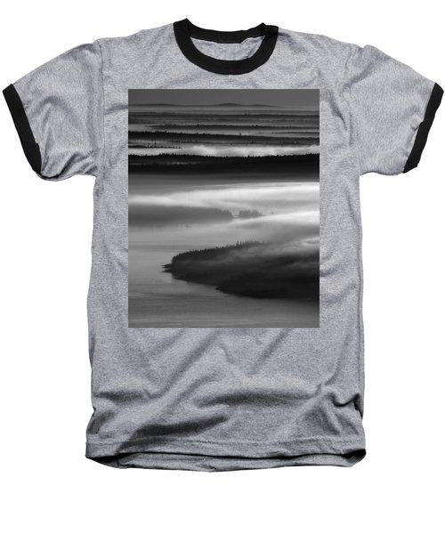 Frenchman's Bay Recursion Baseball T-Shirt