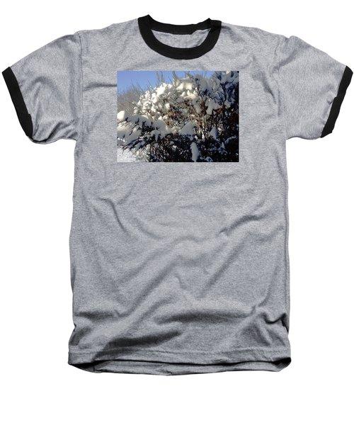 Baseball T-Shirt featuring the photograph Fresc Snow by Vicky Tarcau
