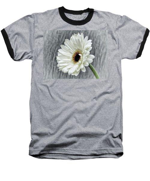 Fresh As A Daisy Baseball T-Shirt by Karen Stahlros