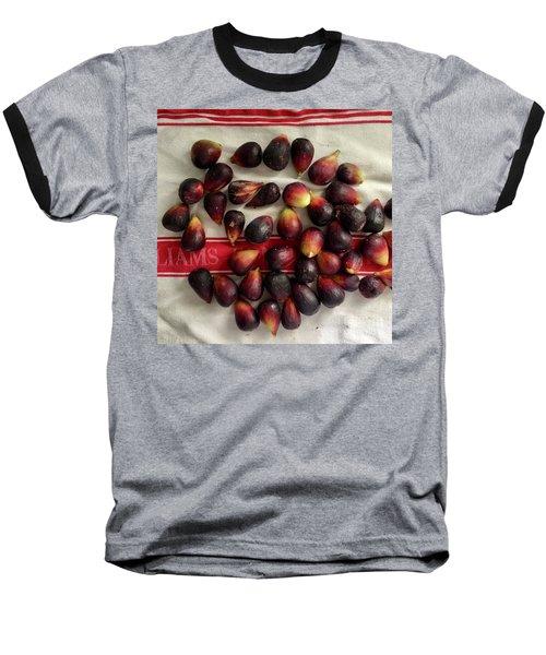 Fresh Figs Baseball T-Shirt by Kim Nelson