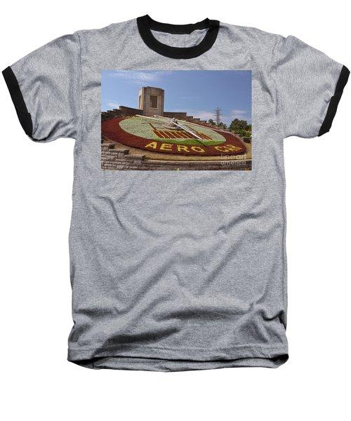 Fresh Flower Clock Baseball T-Shirt