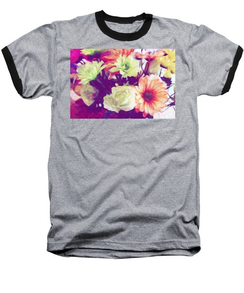 Fresh Flowers Baseball T-Shirt