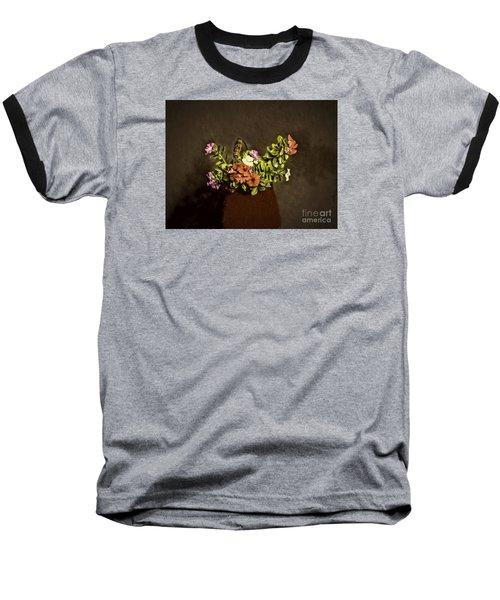 Baseball T-Shirt featuring the photograph Fresh Flowers  ... by Chuck Caramella