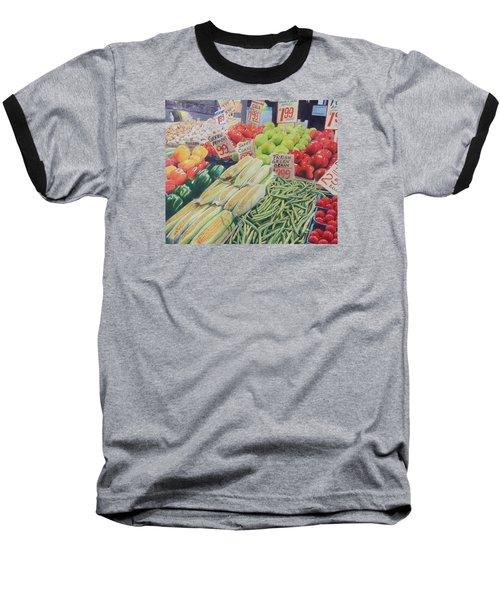 Fresh Green Beans Baseball T-Shirt